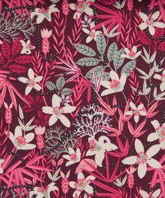 Liberty Art Fabrics, Stanley D Tana Lawn
