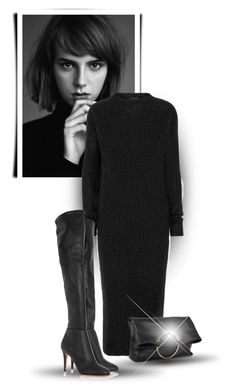 """#4031"" by bliznec ❤ liked on Polyvore featuring Haider Ackermann, Jimmy Choo and Victoria Beckham"