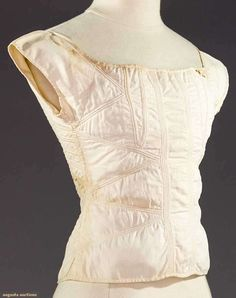 """TEEN GIRL'S CORSET, 1820-1830  