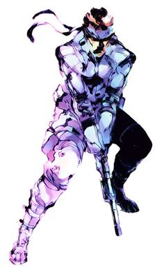 Solid Snake; another Role Model of mine. Lessons taught were in actuality you can only trust yourself, in this life you only have you. No one fucks with you that heavy. If anything they kinda want to see you dead. Keep to yourself keep your circle tight and an arms length
