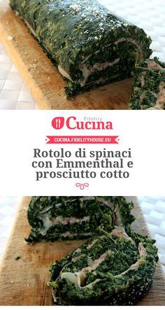 Rotolo di #spinaci con #Emmenthal e #prosciutto cotto della nostra utente Sanny. Unisciti alla nostra Community ed invia le tue ricette!