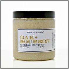 Oak+++Bourbon+Body+Scrub