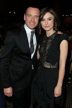 Michael & Keira-one of my fav actresses AND one of my fav actors together!?! awesome!