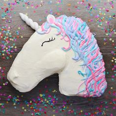 Ingredients- 2 boxesvanilla cake mix, such as Dunkin Hines- Food coloring in multiple colors, such as Wilton brand- Sprinkles- Swiss buttercream- Fondant https://m.facebook.com/babyfirstsoyummy/videos/1752065761774234/