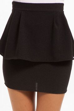 #Tobi                     #Skirt                    #Peplum #Pleats #Skirt    Peplum Pleats Skirt $35                             http://www.seapai.com/product.aspx?PID=1218940