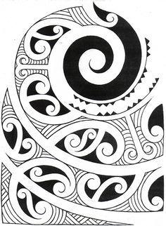 Image result for kowhaiwhai patterns templates Maori Symbols, Maori Tattoo Designs, Tattoo Maori, Maori Patterns, Drawn Fish, Polynesian Art, New Zealand Art, Nz Art, Mandala