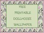 Dollhouse Wallpaper, Grocery Printables, Gift Bags and Boxes, Toys and Games, and Magazine E-Printables From Jennifer Brooks of Jennifer's Free Dollhouse Printables