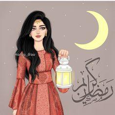 Hijab girly_m hijab ramadan Lovely Girl Image, Girls Image, Girl M, Girly Girl, Girly M Instagram, Sarra Art, Islamic Cartoon, Chica Cool, Anime Muslim