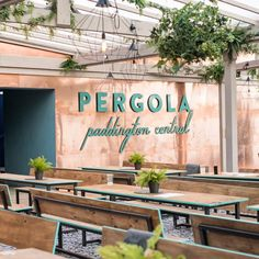 Feet on the ground, head in the clouds Pergola On The Roof, Hotel Interiors, West London, Restaurant, Clouds, Outdoor Decor, Hospitality, Home Decor, Image