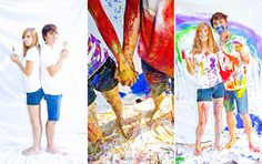 Image detail for -Kelsey & Michael's Paint Fight {Class of - Steph York . Senior Girl Photography, Paint Photography, Photography Backdrops, Amazing Photography, Photography Ideas, Michaels Paint, Portrait Photo, Portrait Ideas, Paint Fight