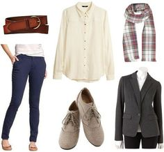 College fashion inspiration from the hit show Elementary - sherlock holmes style