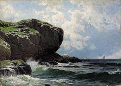 Alfred T. Bricher - Rocky Head