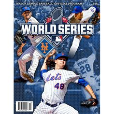 2015 Official Major League Baseball World Series Program - New York Mets Cover - MLB.com Shop