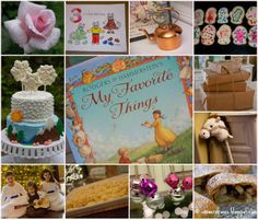 Shower of Roses: My Favorite Things :: A Sound of Music Birthday Party!