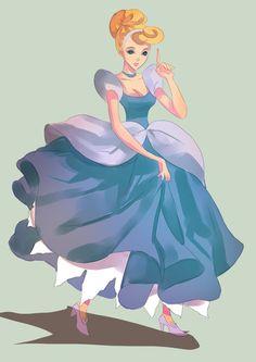 Fairy Tales and or Disney Princess Fanarts by Cherry-Lane on DeviantArt Disney Fan Art, Disney Love, Disney Magic, Disney Style, Disney And Dreamworks, Disney Pixar, Disney Characters, Disney Princesses, Pocket Princesses