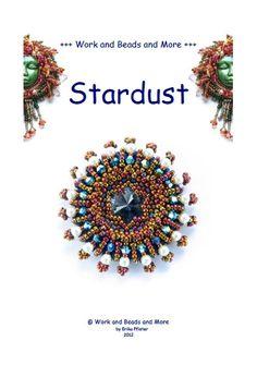 Stardust Pendant Pattern PDF File von WorkAndBeadsAndMore auf Etsy, 12.50