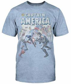 Captain America & Bucky - Faceoff | Jack of All Trades Clothing