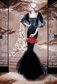 Spring-summer 2016 Haute Couture Collection illustation by Ramona Chantaf @drawingfeever