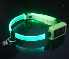 cat collar led Led Dog Collar, Cat Collars, Over Ear Headphones, Gifts, Presents, Favors, Gift