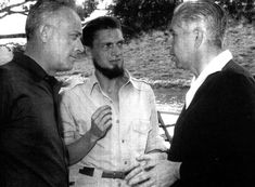 Giulio Einaudi, Carlos Barral y Claude Gallimard
