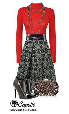 """""""How Would You Wear This Skirt? Look 3"""" by sapellestyle ❤ liked on Polyvore featuring WearAll, Isabel Marant, Chanel, Lipsy and Tom Ford"""