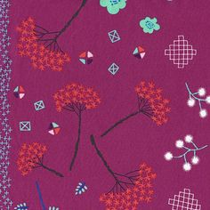 Manufacturer: RJR Fabrics / Cotton + Steel MochiDesigner: Rashida Coleman-HalePrint Name: Mochi Floral in Purple++This fabric is sold by the half yard. If you would like 1 yard, please add. Etsy Fabric, Fabric Shop, Mochi, Fabric Patterns, Sewing Patterns, Stash Fabrics, Pink Crafts, Modern Fabric, Dressmaking