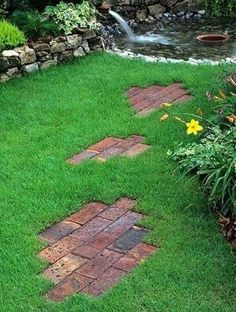 Brick Landscaping Ideas to Increase the Beauty of Homes Outdoor #landscapeideasoutdoor