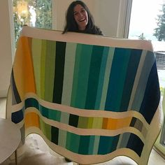 Receiving gifts is always nice, but receiving handmade gifts warm the heart to the extreme! How great is this Stack and Flip quilt!?…