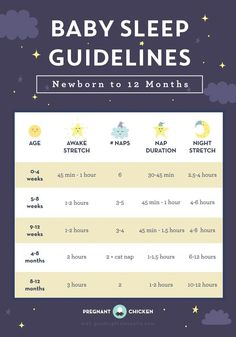 Baby Sleep Guidelines – Newborn to 12 Months - Pregnant Chicken Breastfeeding moms for the Baby Schlafplan, First Baby, Baby Gender, Baby Birth, Baby Sleep Schedule, Sleeping Schedule For Baby, Schedule For Newborn, Baby Wise Schedule, Infant Feeding Schedule