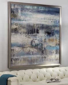 """""""Gold Water"""" Giclee at Neiman Marcus."""