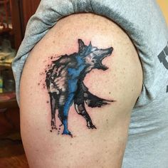 The web's most awesome police tattoo designs. Cop Tattoos, Navy Tattoos, Wolf Tattoos Men, Tribal Wolf Tattoo, Blue Tattoo, Animal Tattoos, Tatoos, Police Wife Tattoo, Law Enforcement Tattoos