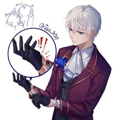 "r-e-i-i: "" 我爱他! and his gloves,ahh!!!^q^ """