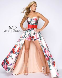 """Like evening gown, your fun fashion wear could cost you a pretty penny. But it is possible to find something more budget-friendly by searching in a prom line rather than a couture pageant line. Just be careful that the detailing doesn't look too """"Wal-Mart"""" when you want more """"Target."""" Mac Duggal produces multiple lines to fit multiple budgets allowing you to find a fun fashion outfit to fit both you and your budget, and the prom 2017 line features multiple looks that could work perfectly in…"""