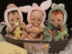 miniature baby dolls - Google Search