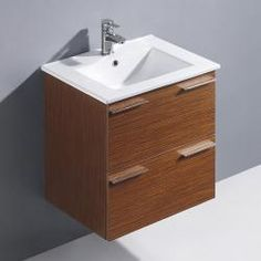 @Overstock - Vigo Ophelia is a wall mounted contemporary vanity with a refined and elegant look.  Features two deep drawers which both include soft closing hardware.http://www.overstock.com/Home-Garden/Vigo-24-inch-Opehelia-Single-Wall-Mounted-Bathroom-Vanity/6445607/product.html?CID=214117 $877.99