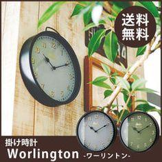 壁掛け時計【Worlington[ワーリントン】