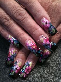 here momma i thought u might like these nails i,m glad ur,e staying home tonight