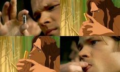 Jared, Season 3 gag reel - LOL this is funny, whomever come up with this! Jared is Tarzan, apparently HA!