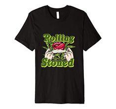 Rolling Stoned Funny Marijuana Cannabis Blunt 420 Weed Gift Premium T-Shirt Weed Shop, Cannabis Oil, Smoking Weed, Ganja, Stoner, Hemp, Grass, Funny, Mens Tops