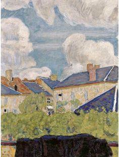 Pierre Bonnard (1867-1947) Nuages sur les toits