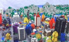 Shannonia expands: The Falls: A LEGO® creation by Shannon Young : MOCpages.com