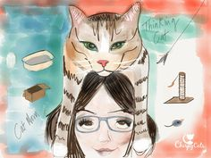 It's Mother's day and us cat moms deserve a place at the table. Let's embrace our cool cat lady-ness and relegate that mythical creature, The Crazy Cat Lady, to the history books.  via @chirpycats