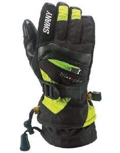Swany XChange Gloves Juniors-MEDIUM-BLACKLIME BKLM by Swany. $59.95. The Swany Junior X-Change Gloves are exactly the same as the adult version, but in a size just for kids. So you can rest easy knowing your child's hands and fingers are warm and dry while skiing, snowboarding, sledding, ice skating or building snowmen. These soft shell, microfiber gloves include leather trim and a LeatherShield reinforced palm for durability, something kind of crucial in a kid's...