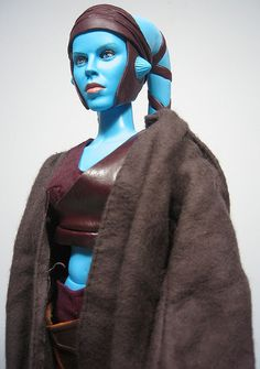 Fortress of Testicular Fortitude: 1:6 Sideshow Star Wars Aayla Secura