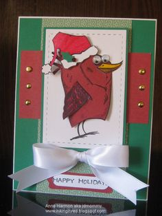 FS457, Bird Christmas by jdmommy - Cards and Paper Crafts at Splitcoaststampers