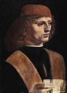 Leonardo da Vinci - Portrait eines Musikers