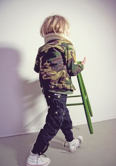 camo jacket #cool #kids