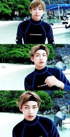 BTS BON VOYAGE Season 2. Taehyung | Cr. vall1230_4am