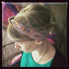 PD Designer, Melissa rocks our handkerchief in a super cute way!