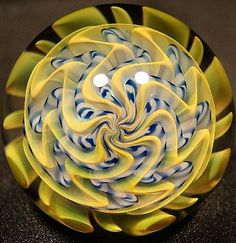 Route 66 Glass Works - Specializing in art glass marbles, featuring Richard C. Hollingshead II.